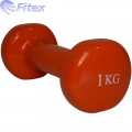 Гантель в виниле FITEX MD2015V 1-4 кг