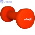 Гантель в неопрене FITEX MD2015N 1-4 кг
