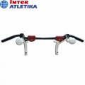 Турник настенный с шарами и зацепами INTER ATLETIKA HL020
