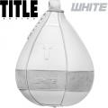 Боксерская скоростная груша TITLE WHITE TB-i1116