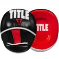 Боксерские кожаные лапы TITLE TB-6093
