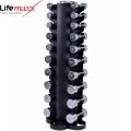 Набор стойка с гантелями LifeMaxx LMX80.SD