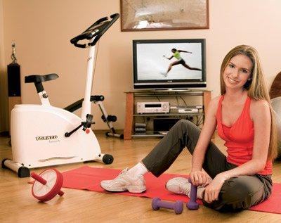 Условиях фитнес в домашних